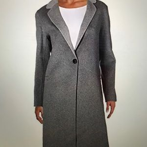 Nanette Lepore double faced wool blend coat S NWT